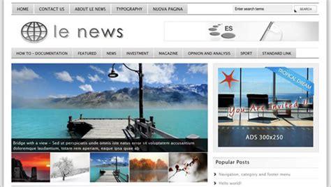 html news themes 20 news website html5 templates free premium themes