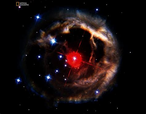 echo of light several months in 2002 hubble