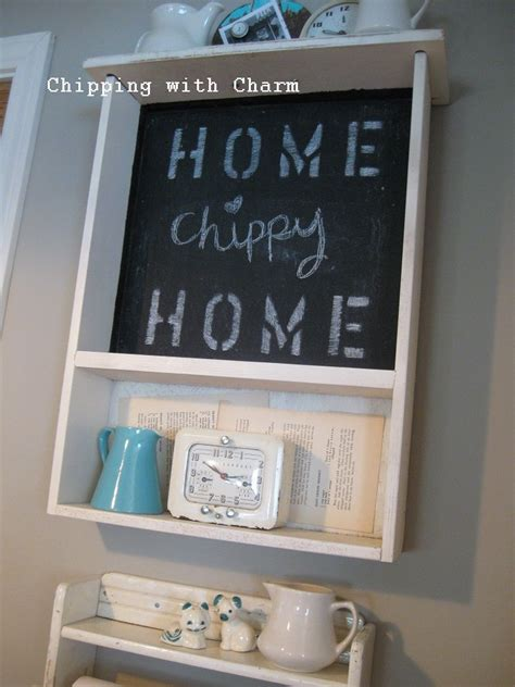 Kitchen Chalkboard With Shelf by Re Purposing A Kitchen Quot Junk Quot Drawer To A Chalkboard Shelf