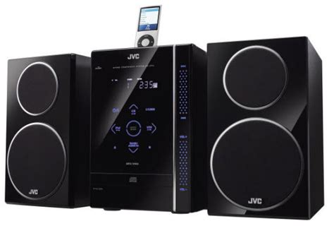 jvc micro audio system cool material