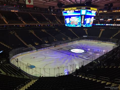 section 207 madison square garden madison square garden section 207 new york rangers