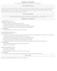 Social And Human Service Assistant Sle Resume by Community And Social Service Resume Sles