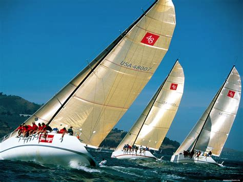 Sea Wall Murals regatta regatta sea ships technics 1600x1200