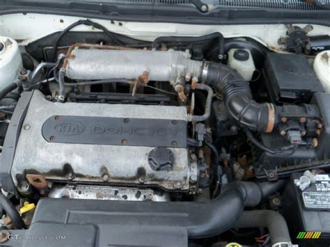2000 Kia Sephia Engine 1999 Kia Sephia Ls 1 8 Liter Dohc 16 Valve 4 Cylinder