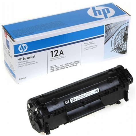 Toner Laserjet cartucho original de t 243 ner negro hp 12a laserjet q2612a p