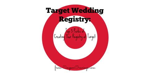 Wedding Registry For Target by Top 5 Perks Of A Target Wedding Registry