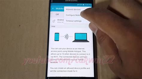reset android hotspot password android 5 0 how to change network name and password in