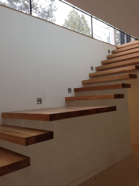how to attach banister to wall floating stairs brackets stairs design ideas