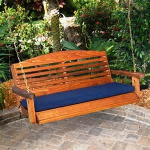 wooden patio swing porch swings seat of choice for summer