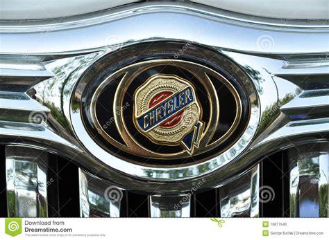 Stock Symbol For Chrysler by Chrysler Symbol Redaktionelles Bild Bild Kostspielig