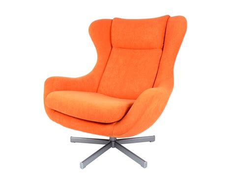 mid century orange swivel chair mid century modern orange egg chair arne by stonesoupology