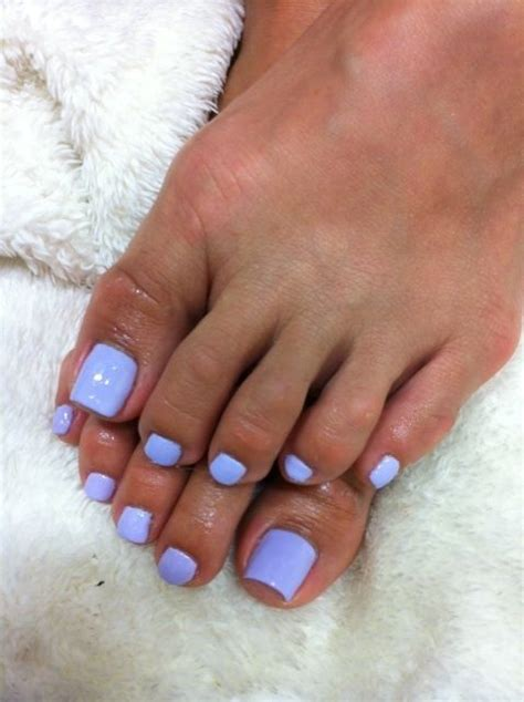 toe colors pretty light purple toenail them creative and