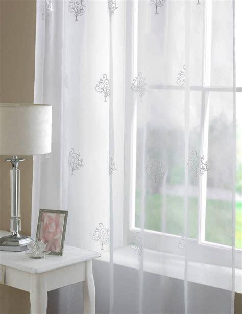 voile drapes curtains oakmont voile panel width 150cm net curtain 2 curtains