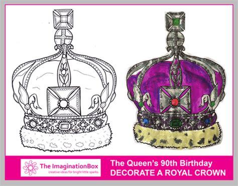 crown template ks2 queen elizabeth s 90th birthday by learnerslabyrinth