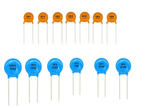 capacitor disc code pin ceramic capacitor codes on