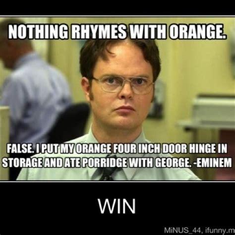 eminem orange lol eminem is funny quot i put my orange four inch door hinge