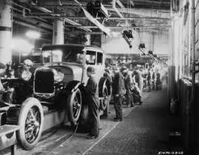 Henry Ford And The Assembly Line October 20 Henry Ford Sts The Model A Engine On