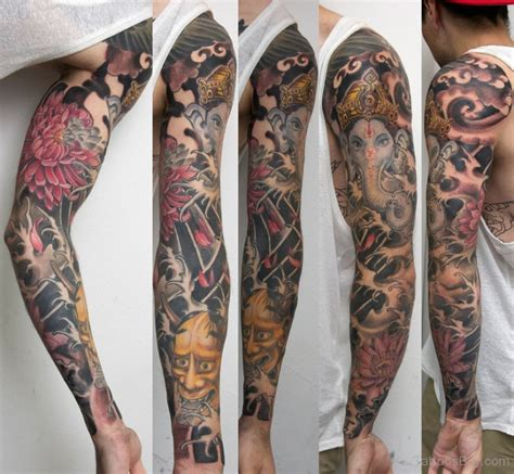 ganesh tattoo sleeve hinduism tattoos tattoo designs tattoo pictures page 20