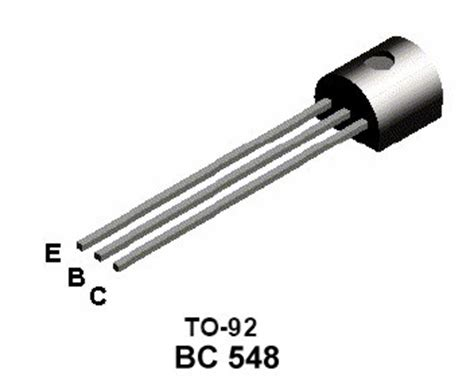 bc548 transistor legs 1 check your p c board carefully for damage to the tracks a circuit tester or a multimeter