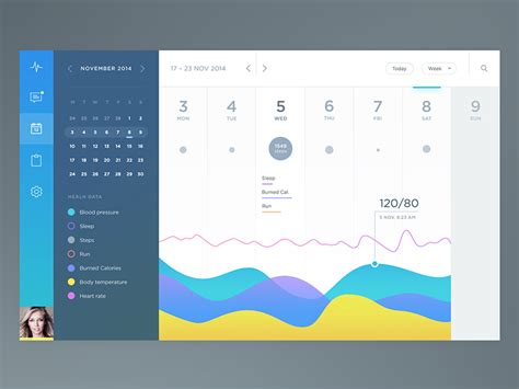 Design Calendar Ux   health app calendar calendar ui app and ui ux