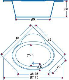 Small Corner Bathtub Dimensions by Dimensions Bathroom Bathtub Dimensions