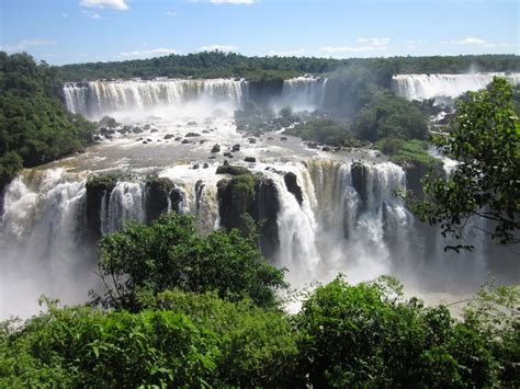 famous falls iguazu falls the most unique and spread waterfall tedy
