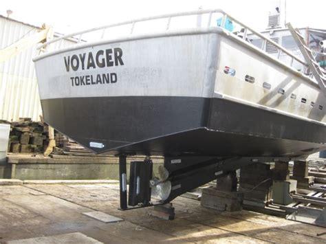 boat sponsons crab boat aluminum sponson project