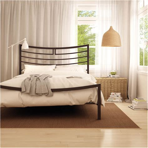 aura contemporary bed by amisco collectic home