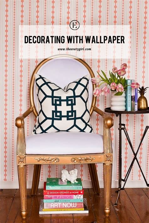 6 fresh ways to decorate with wallpaper the everygirl