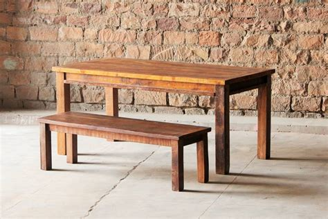 rustica upcycled dining table by tree furniture