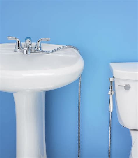 aquaus 360 bidet aquaus 360 176 held bidet for faucet w stainless steel