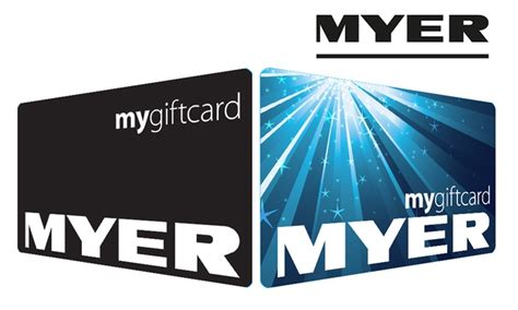 Myer Gift Cards - myer egift card groupon credit groupon goods
