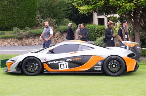 mclaren p1 side view mclaren p1 gtr design concept side view photo 12