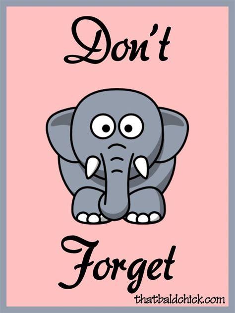 clipart donne don t forget elephant clipart clipartxtras