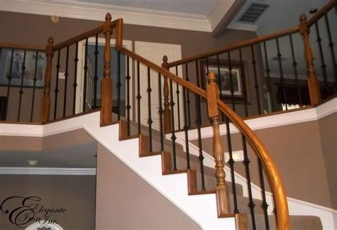 Decorative Balusters For Stairs Wrought Iron Balusters Stair Railings Balconies And