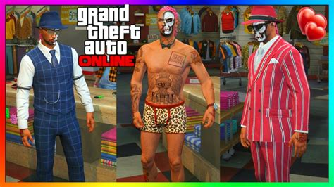 gta 5 valentines dlc clothes gta 5 valentines dlc 2016 all new clothing