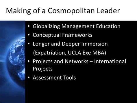 Ucla Mba Distance Learning by The Cosmopolitan Corporation