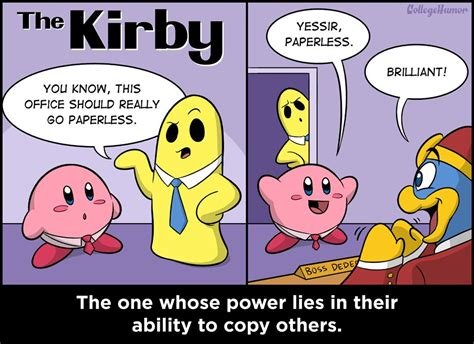 Kirby Memes - the 6 nintendo characters you have to deal with at work