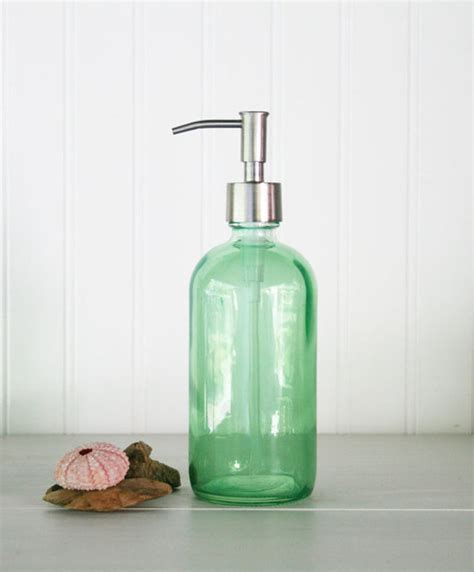 Soap Dispensers For Bathrooms Glass Soap Dispensers Bath Accessories Mediterranean Bathroom Accessories Other Metro