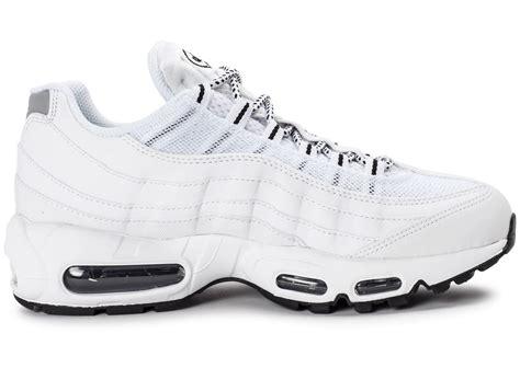 Chausures Nike Air by Nike Air Max 95 Premium Blanche Chaussures Baskets Homme Chausport