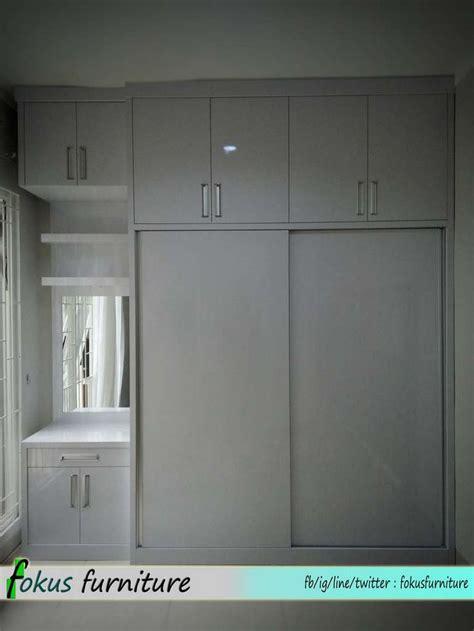 Lemari 2 Pintu Warna Putih 8 best harga kitchen set minimalis lemari dapur furniture minimalis hpl finishing duco harga