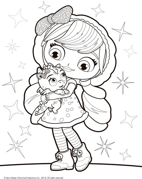 little charmers coloring pages games little charmers lavender coloring pages coloring page