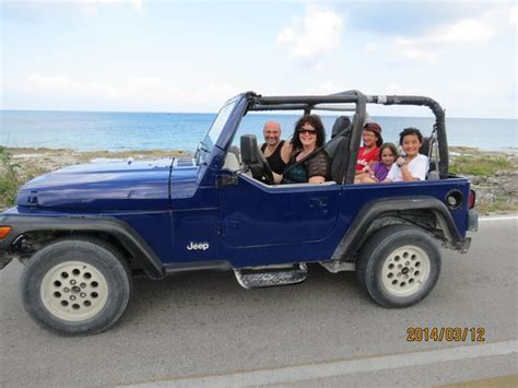 Jeep Family Our Family Jeep Picture Of Cozumel Cruise Excursions
