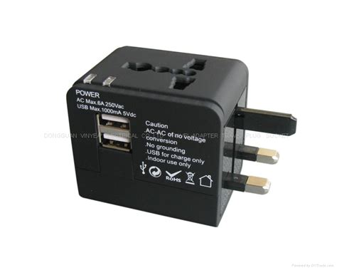 Universal Travel Adapter Jy 166b C 3 Usb 4 5a Plus Type C Port world travel adapter with dual usb charger wy 012 dual vinyea china manufacturer socket