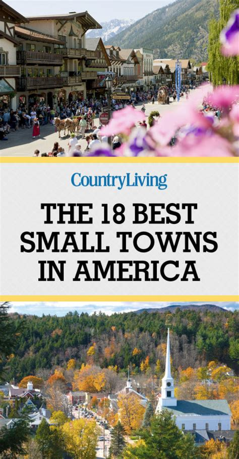 smallest towns in america 18 best small towns in america prettiest small towns in