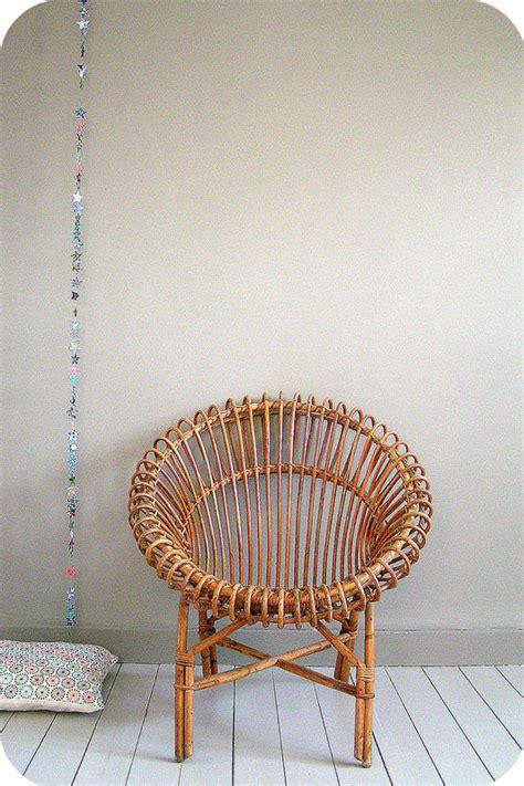 fauteuil rotin soleil fauteuil soleil en rotin vintage l atelier du petit parc