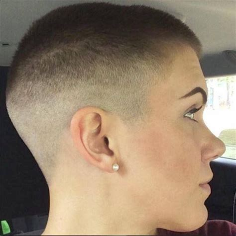 cutting womens hair on an odd shaped head 454 best images about bald shaved buzz cut perfect