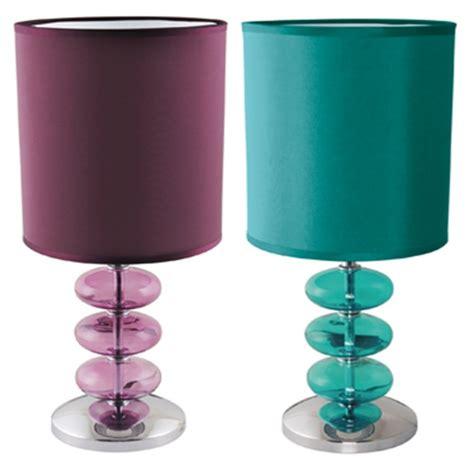 purple shades for bedroom lloytron viennese teal plum lamp table desk bedroom light turquoise purple shade ebay