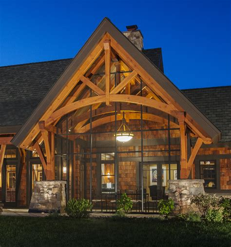 Church Entryway Ideas Timber Frame Timber Frame Porches New Energy Works