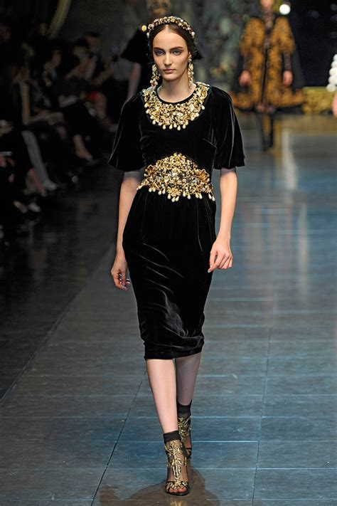 dolce and gabbana fall winter 2012 searching for style